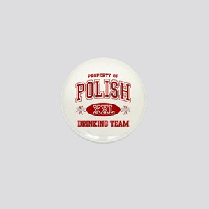 Polish Drinking Team Mini Button